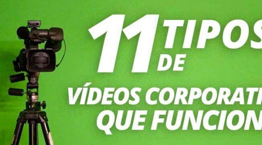 Tipos de Vídeos Corporativos que Funcionan
