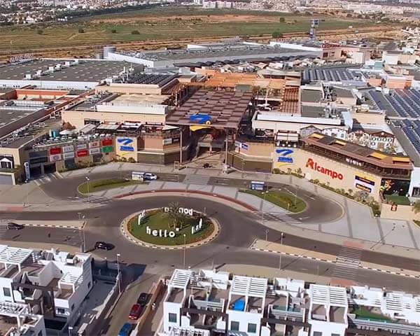 Fotografia a Centro Comercial en Murcia